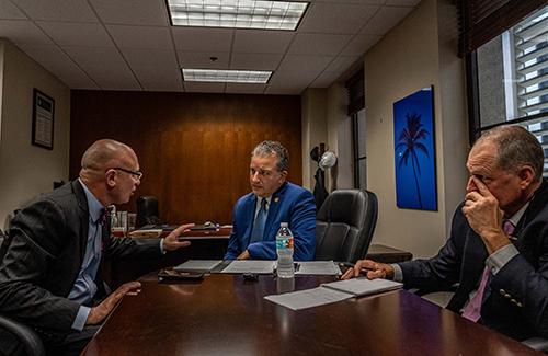 foto de la conferencia de prensa