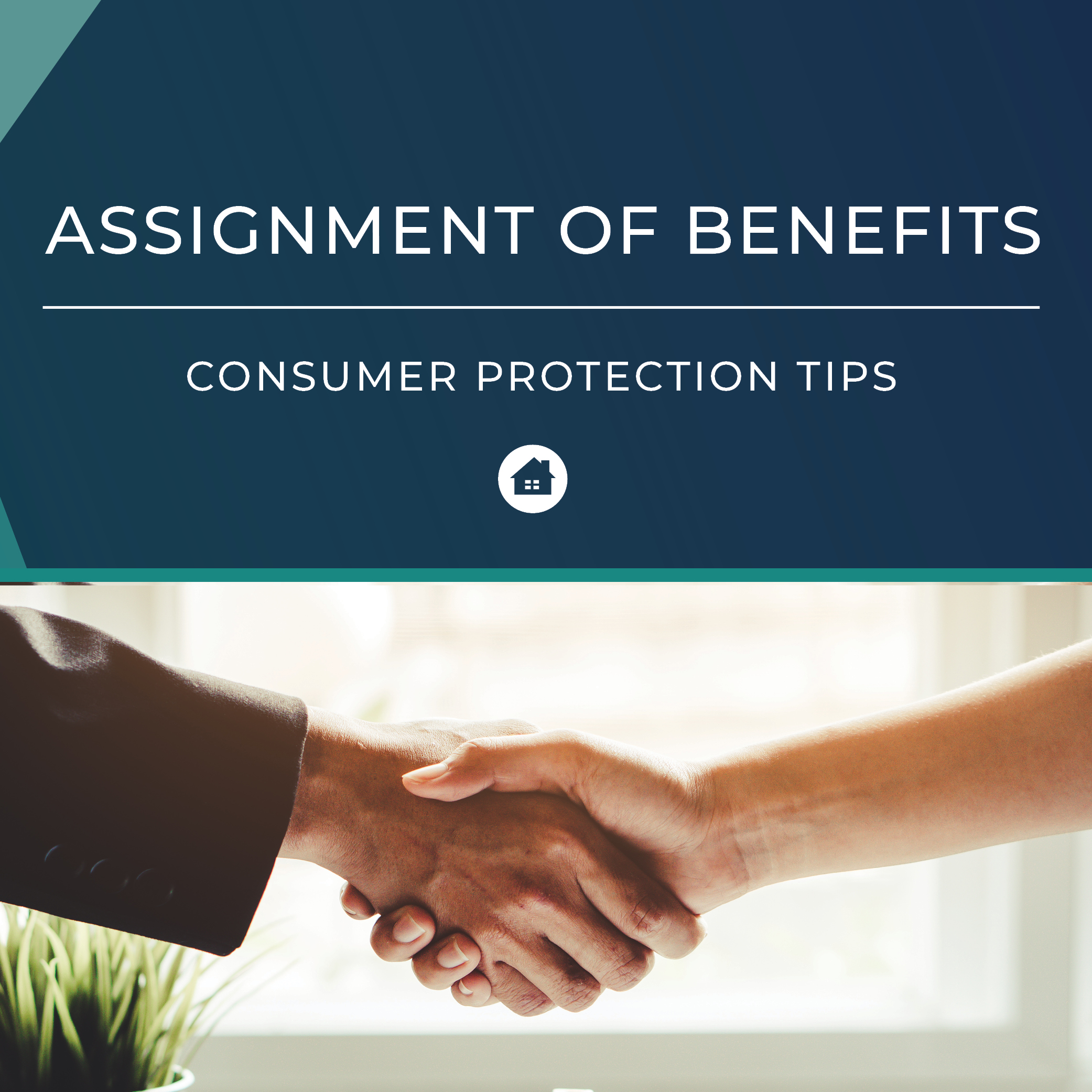 Assignment of Benefits Consumer Protection Tips Brochure