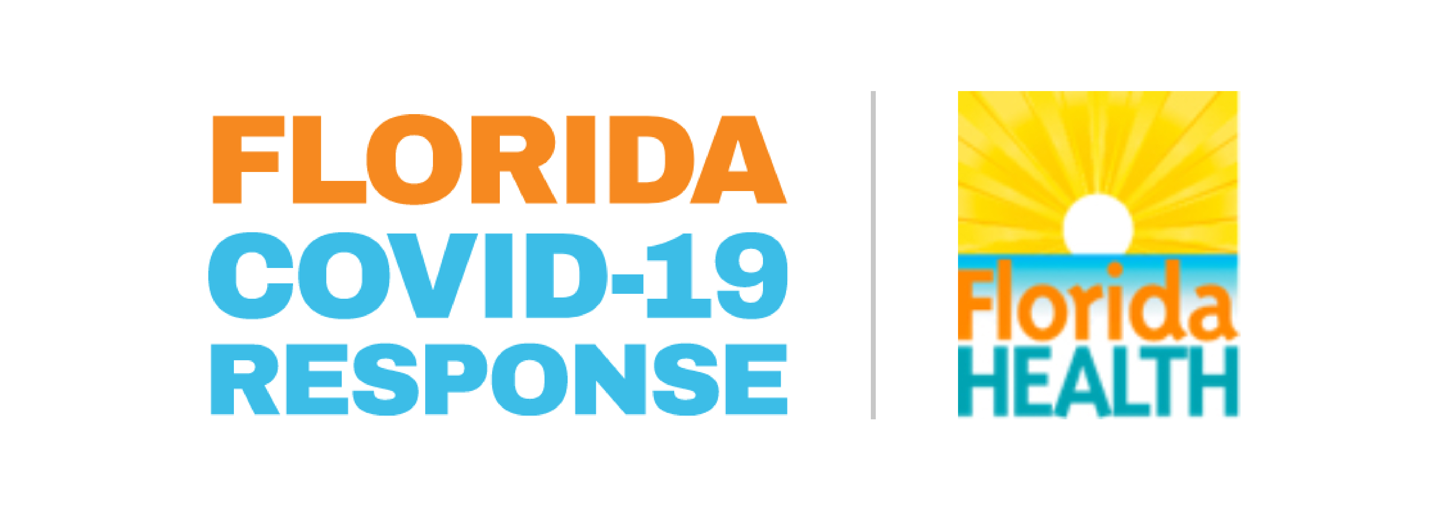 Florida Department of Health: COVID-19 Response Logo
