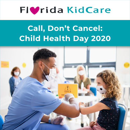 YourFLVoice: Call, Don't Cancel - Child Health Day 2020